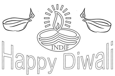 diwali pictures in black and white share online