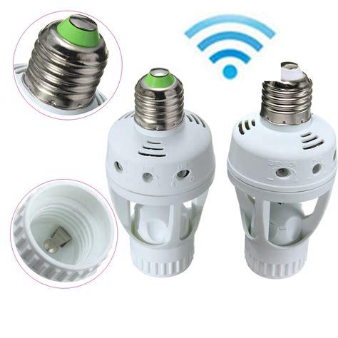 E27 Es Infrared Pir Motion Sensor Led L Bulb Holder Switch Led Light Bulb