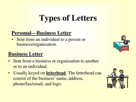 address a business letter to an individual how to format a business letter ppt