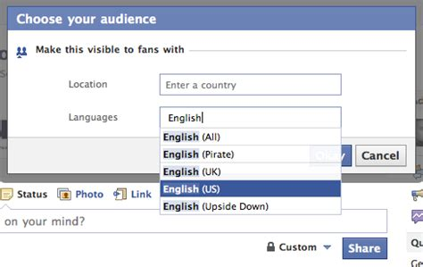 making sense of facebook geo targeting feature for posts