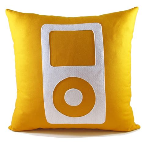 Mp3 Player Pillow by Pillow Ipod