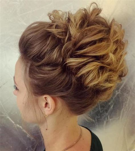 upstyles for mid to long hair 60 updos for thin hair that score maximum style point