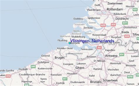 flushing netherlands map related keywords suggestions for map vlissingen