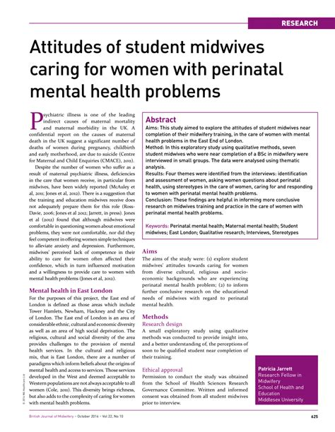 Womens Issues Healthcare Mba by Attitudes Of Student Midwives Caring For Pdf