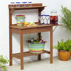 potting bench world market small space bars on pinterest pottery barn bar wine