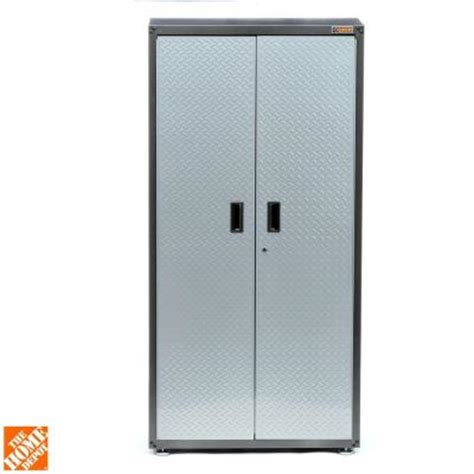 home depot garage cabinets gladiator ready to assemble 72 in h x 36 in w x 18 in d
