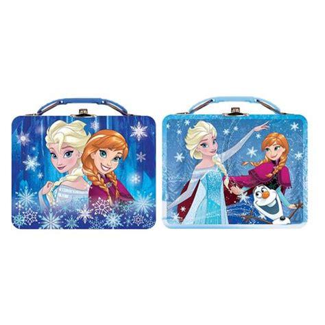 Lunch Box Set Frozen disney frozen and elsa tin lunch box set tin box
