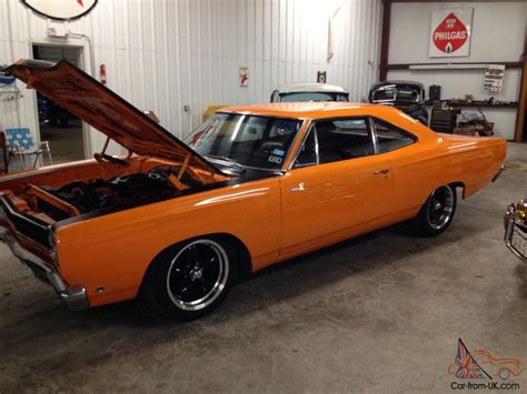 70 Roadrunner For Sale Ebay by 1968 Plymouth Roadrunner 383 Big Block No Reserve Will Sell