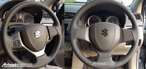 Rack Steer Suzuki Ertiga 2015 suzuki ertiga facelift steering wheel comparison in
