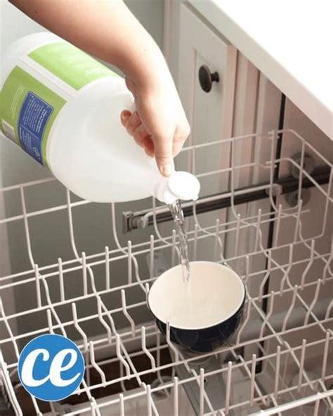 Vinaigre Dans Lave Vaisselle comment nettoyer votre lave vaisselle en 3 201 rapides