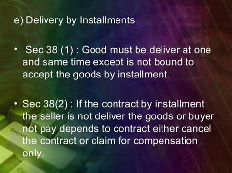 section 38 workers compensation act sales of goods act 1967