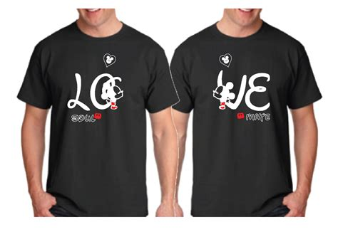 Hubby Lover Soulmate B28 Kaos Family T Shirt lgbt soul mate mr with custom name and special date married with mickey