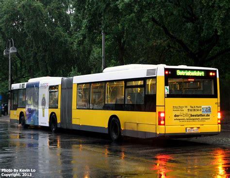 Zoologischer Garten To Tegel Airport by Bvg Berliner Verkehrsbetriebe Photos Articulated Low Floor