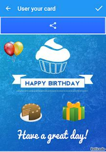 make your own happy birthday card happy birthday cards android apps on play