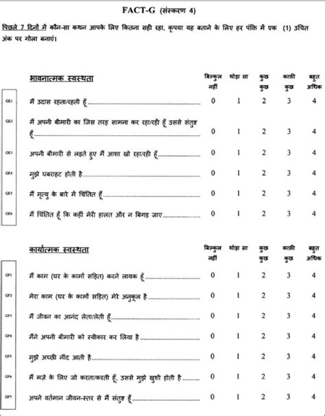 madam query biography in hindi pdf fact g hindi quality of life questionnaire page 2 openi