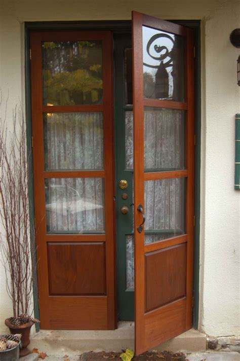 Wooden Front Door With Glass Panels Furniture Light Blue Entry Door With Glass Panel Using Fiberglass Decoration Plus Side