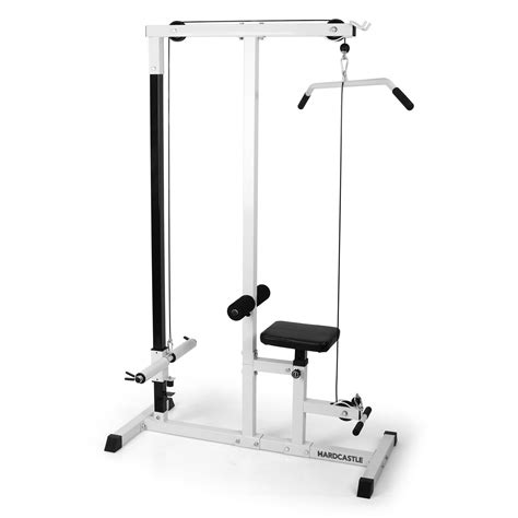 home fitness multi lat pull workstation work out