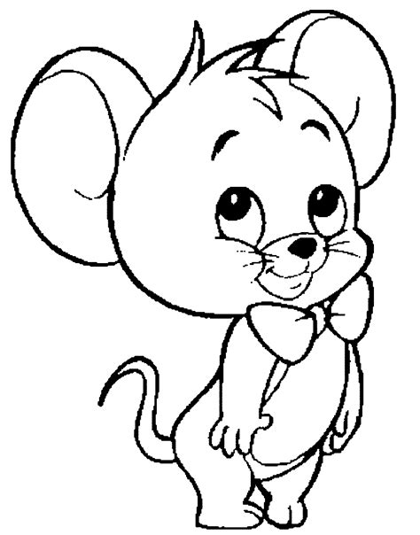 Mice Coloring Page Coloring Home Mouse Coloring Pages