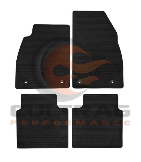 Buick Floor Mats by 2013 2016 Buick Lacrosse Gm Front Rear All Weather Floor