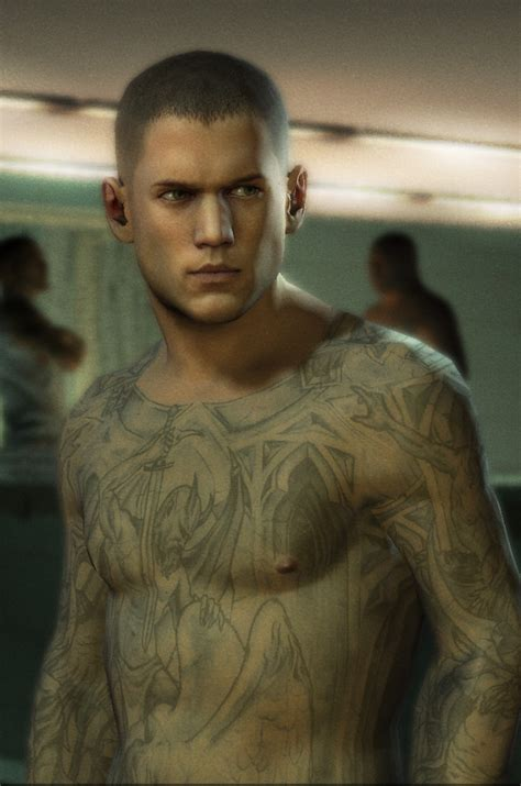 prison break tattoo prison conspiracy and screenshots