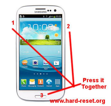 how to safety factory reset samsung galaxy s3 (i9300