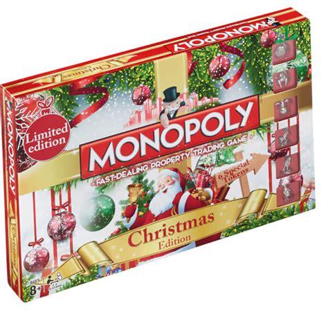 Home Decor Things Sale monopoly christmas edition toys zavvi com