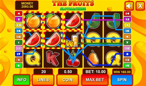 play slot machine  fruits