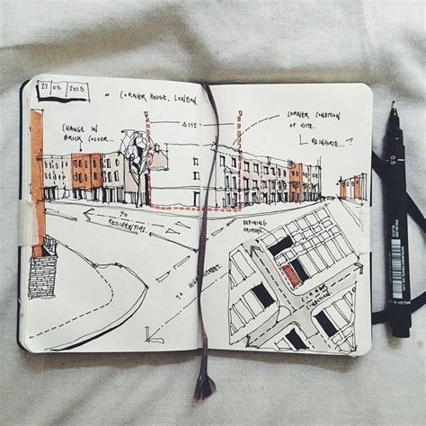 sketchbook architecture the 25 best architecture sketches ideas on