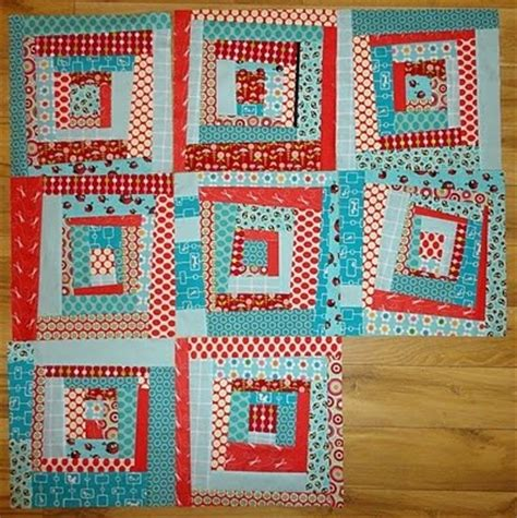 wonky log cabin quilts sewing
