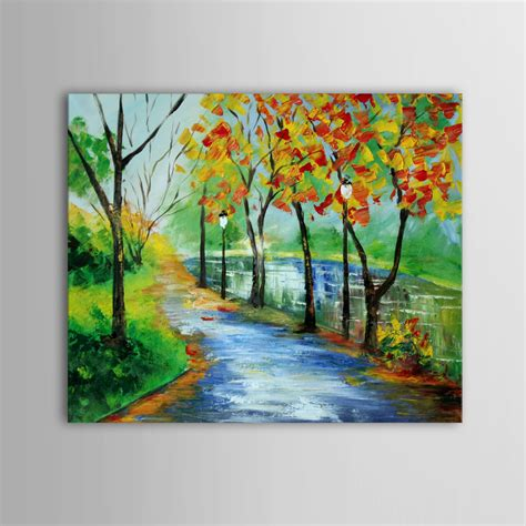acrylic paint national bookstore price buy handpainted landscape scenery acrylic painting canvas