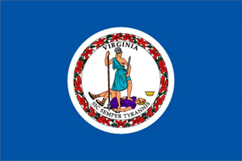 meaning of vas virginia va state flag list of 50 state flages of the