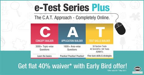 Cl Mba Test Series get the c a t approach completely with ims e test