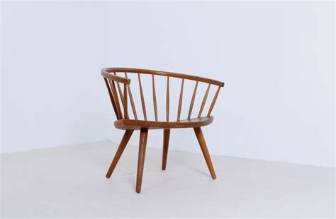 high chair swedish design yngve ekstrom arka chair swedese oak wood