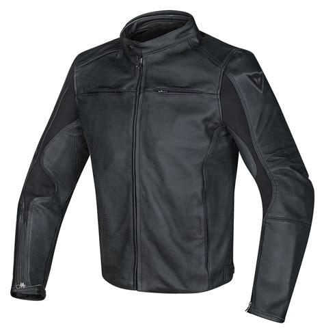 perforated leather motorcycle dainese razon perforated leather jacket revzilla