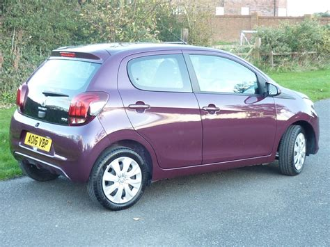 used peugeot 108 for sale used purple berry peugeot 108 for sale cheshire
