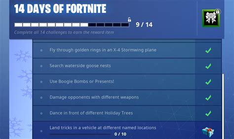days  fortnite challenge  reward sneaky