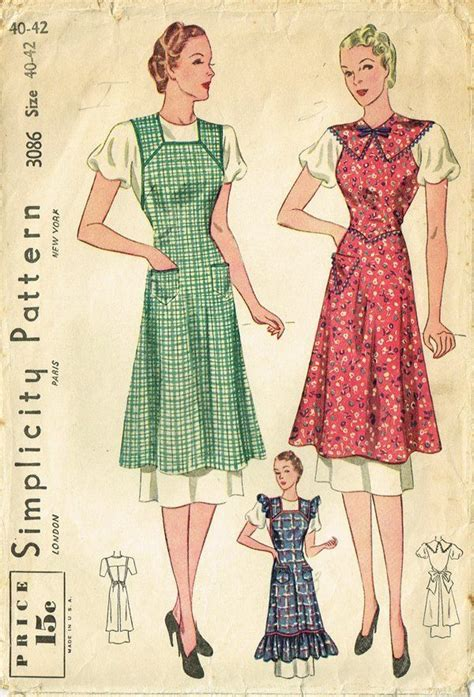 pattern ng apron 62 best images about aprons on pinterest 1940s sewing