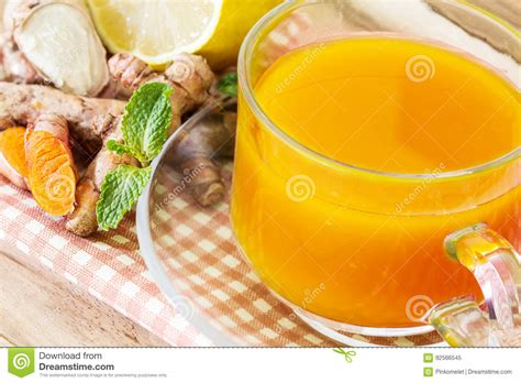 Inflammation Detox Drink by A Cup Of Turmeric Tea With Lemon And Benefits For