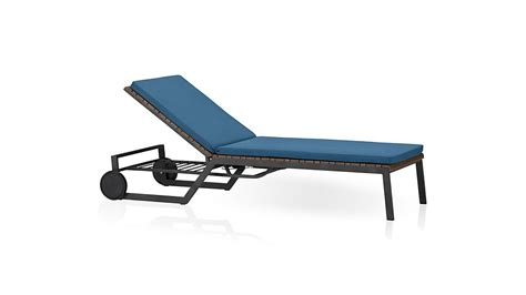 crate and barrel chaise outdoor rocha chaise lounge with sunbrella 174 cushion turkish