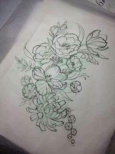 flower thigh tattoo designs floral for my thigh tattoos