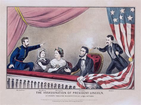 assassinated lincoln assassination simple the free