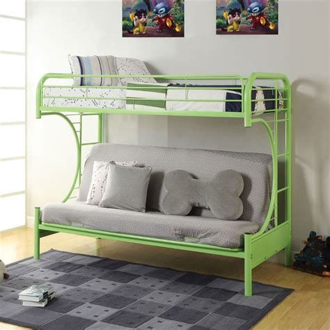 Acme Eclipse Bunk Bed Acme Furniture Eclipse Futon Bunk Bed In Green 02091w Gr