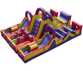 Best Backyard Water Slide Inflatable Obstacle Course Rentals In Ct Funtastic