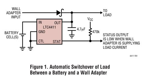 ideal diode as bistable switch ltc4411 2 6a low loss ideal diode in thinsot linear technology
