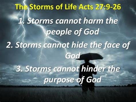Acts 27 Sermon Outlines by 10 12 The Storms Of Acts 27 9 29