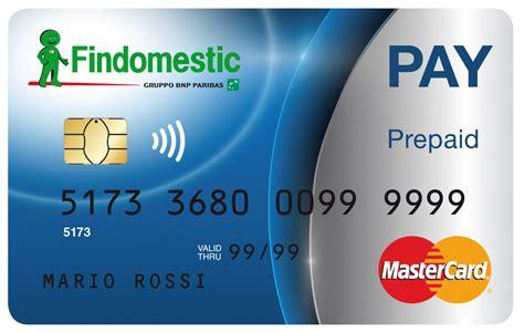 www findomestic findomestic pay carta prepagata con codice iban findomestic