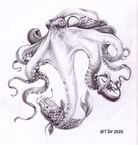david tat on pinterest octopus tattoo design octopus