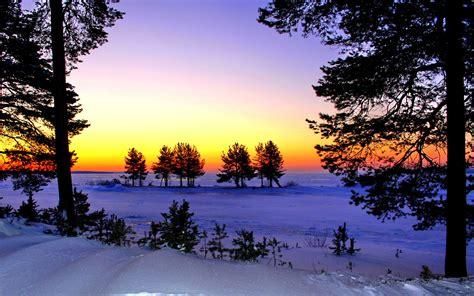 winter images winter dusk wallpaper
