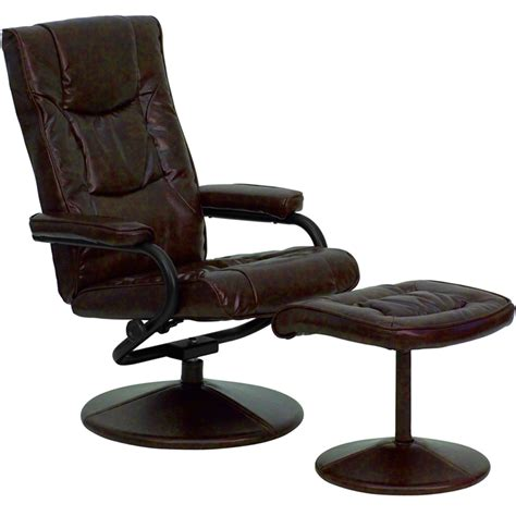 leather recliner and ottoman leather recliner and ottoman in recliners