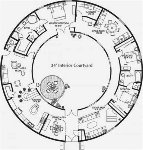Monolithic Dome Home Plans   AyanaHouse